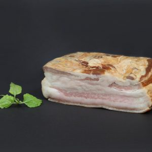 Klausenburg's bacon from mangalica